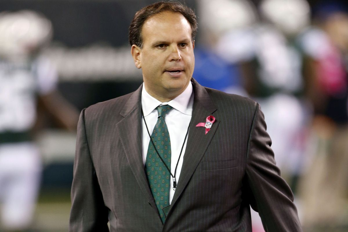 New York Jets general manager Mike Tannenbaum.