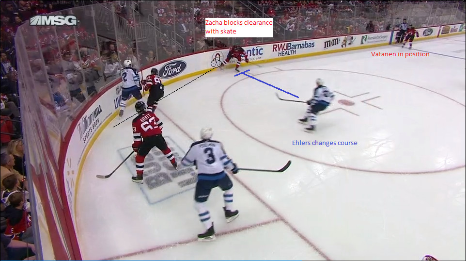 Part 3: Zacha blocks the clearing attempt