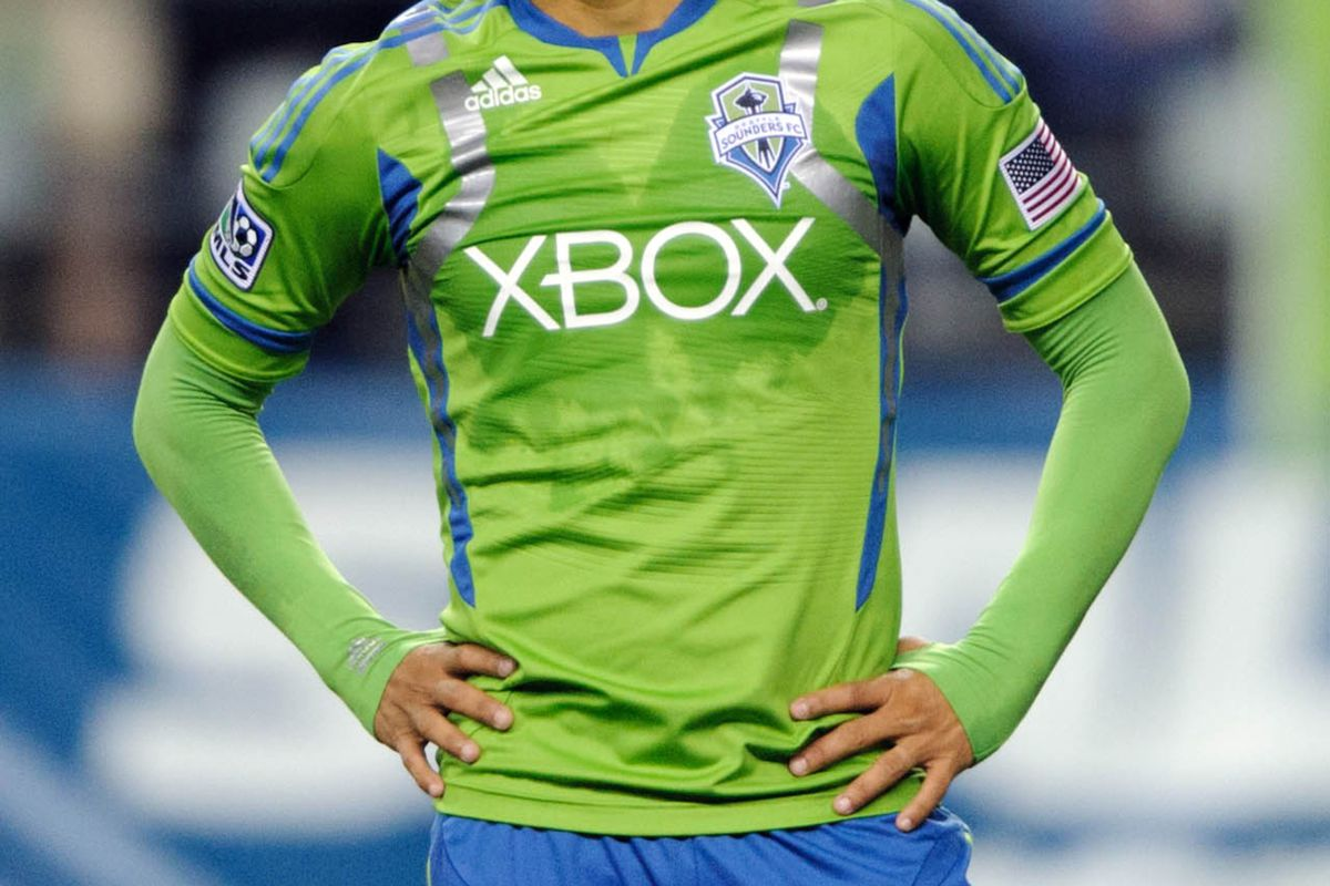 It was a frustrating day all around for Fredy Montero and the Sounders.