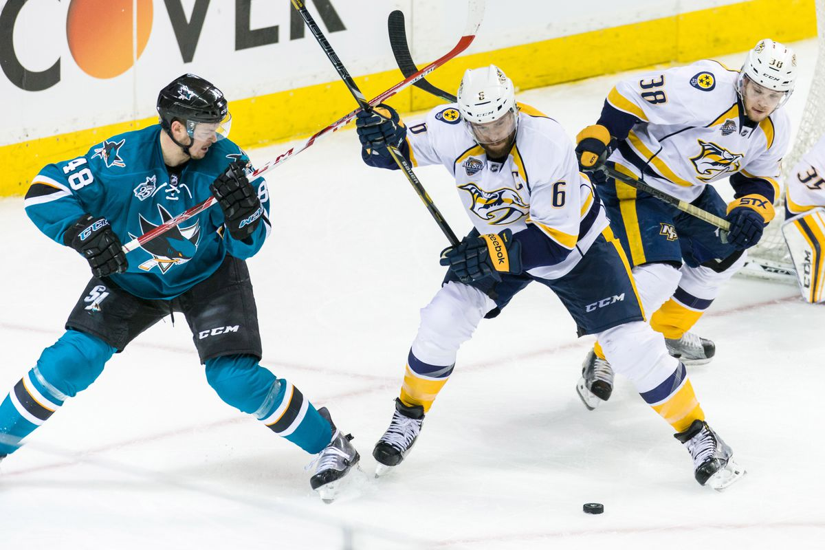 predators vs. sharks, 2016 nhl playoffs: time, tv schedule and live