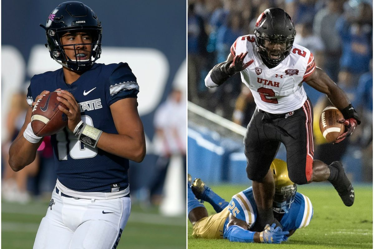 Both Utah State and Utah are ranked in the top 20 in this week's Associated Press and Coaches polls.
