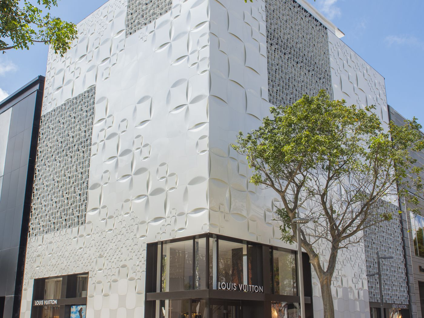 Inside Louis Vuitton's Massive Four Story Design District Store - Racked Miami