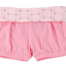 Baby girls infant jersey short