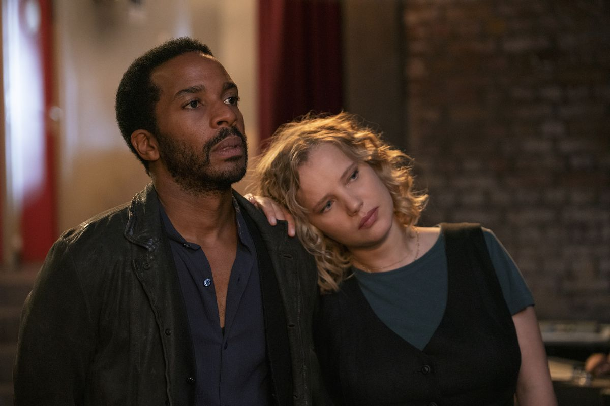André Holland and Joanna Kulig in The Eddy.