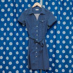 "Bridge & Burn Polka Dot Dress, <a href=""http://onanyc.com/collections/dresses/products/audie-polkadot"">$92</a>"