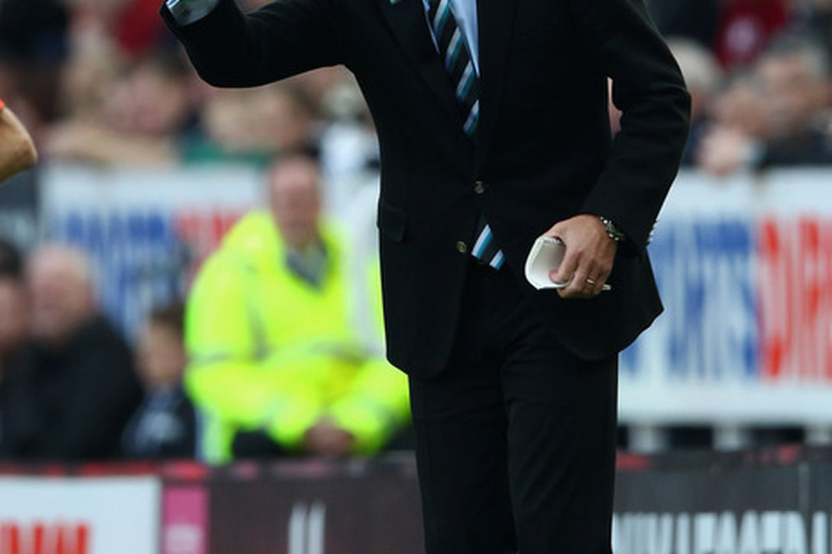 He was Manager of the Year, but how many times was he voted Man of the Match?