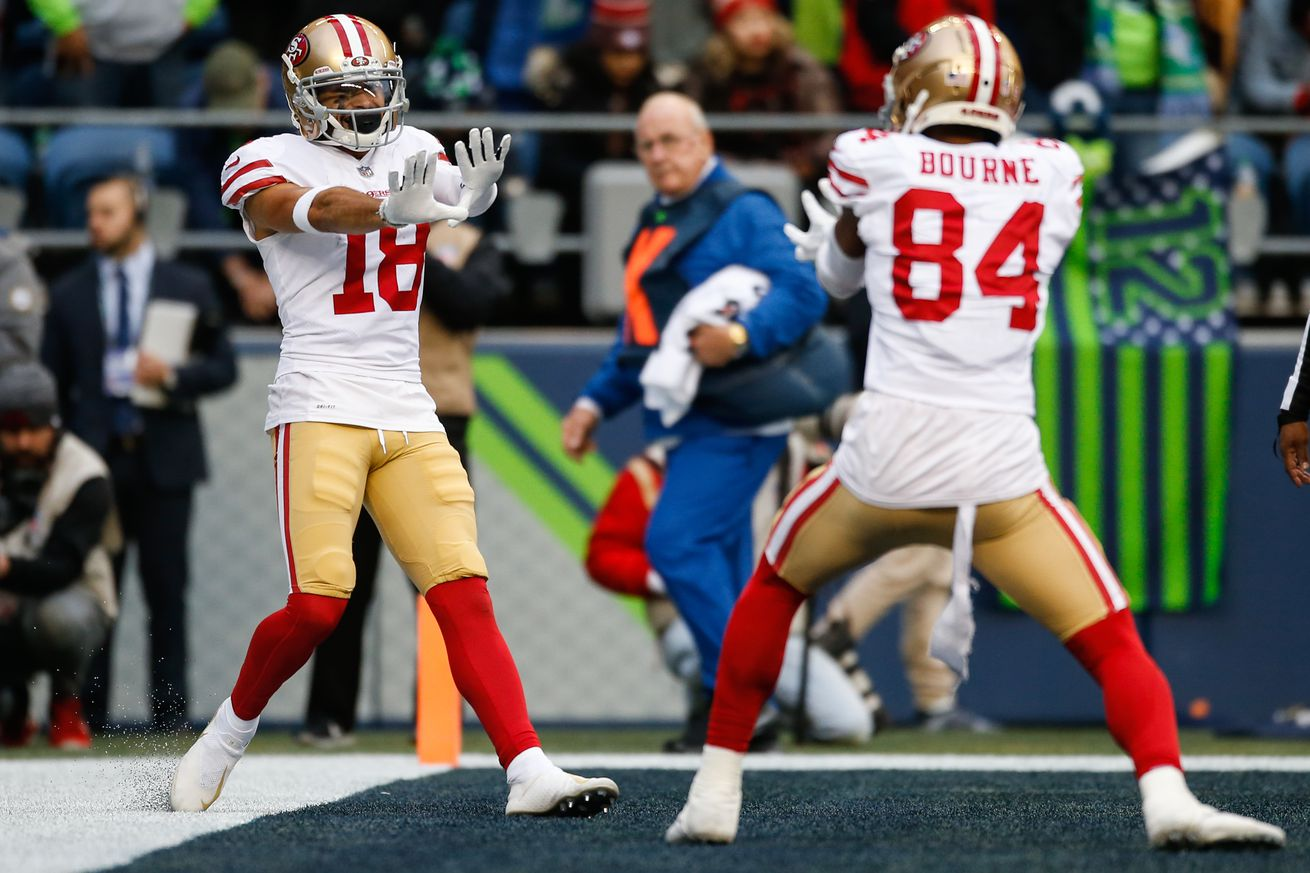 Which 49ers wide receiver do you think gets the most targets?