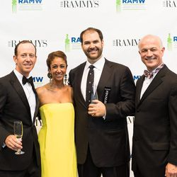 Red Hen's Mike Friedman (center right).