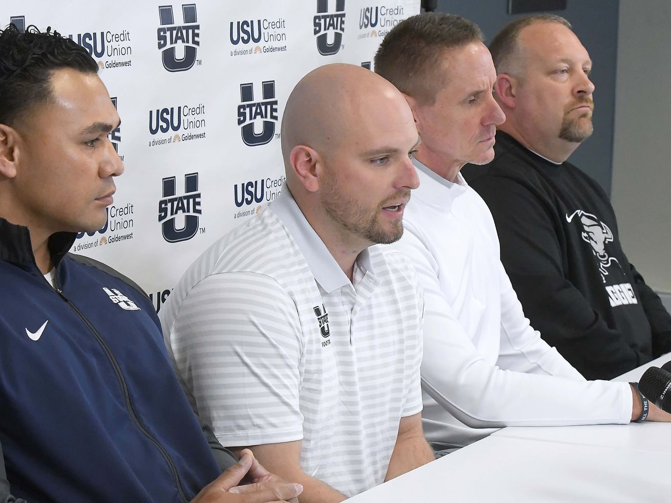 'This was the guy we were looking for': Utah State Aggies welcome offensive coordinator Bodie Reeder into the fold