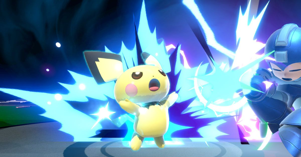 Super Smash Bros. Ultimate's latest patch nerfs Pichu and Olimar