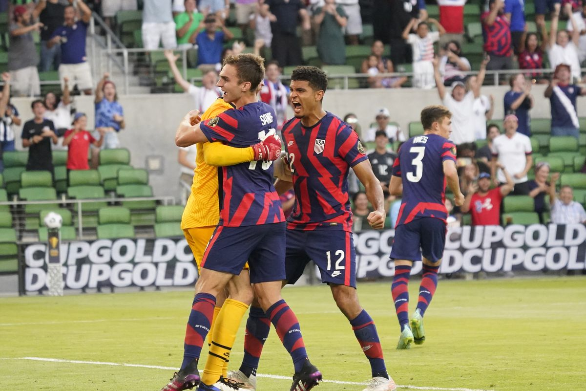 Soccer: CONCACAF Gold Cup Soccer-Qatar at USA