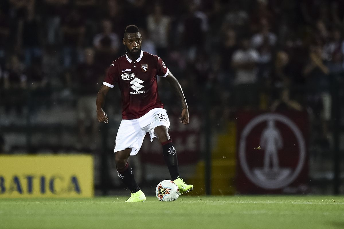 Nicolas Nkoulou of Torino FC in action during the UEFA...