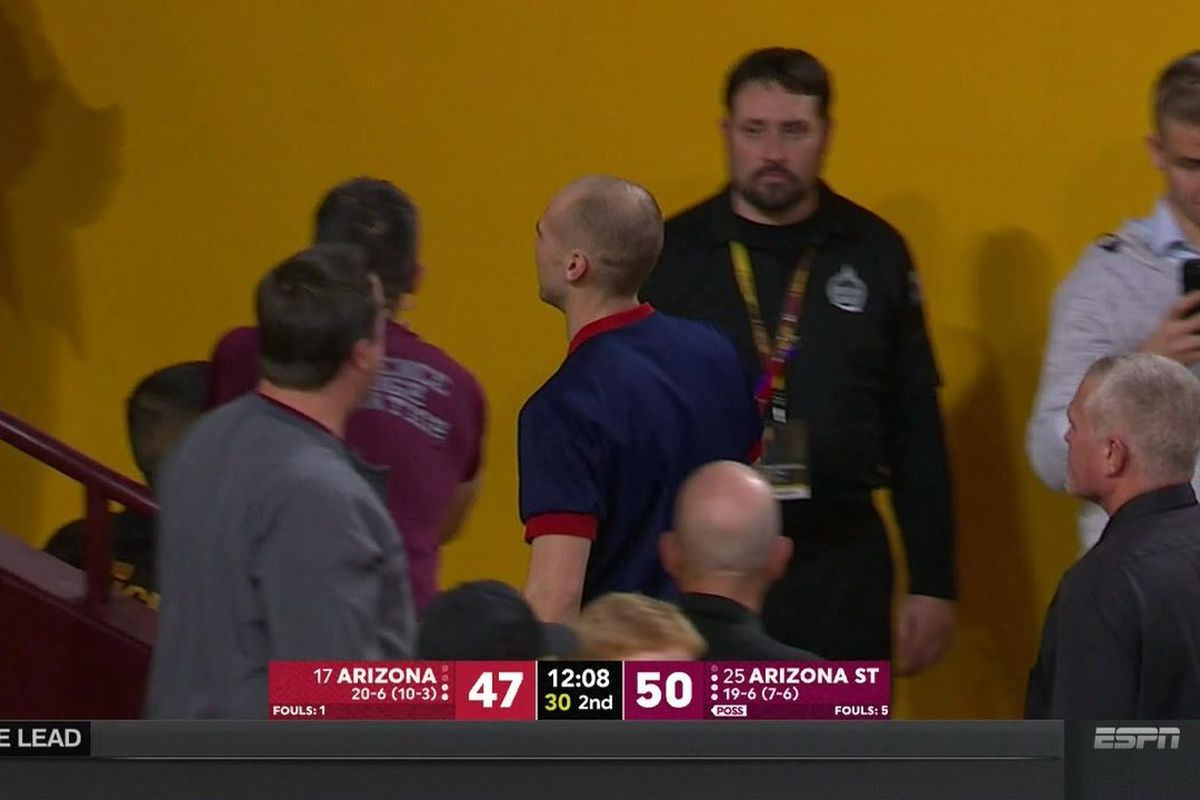 Image result for arizona cheerleader ejected
