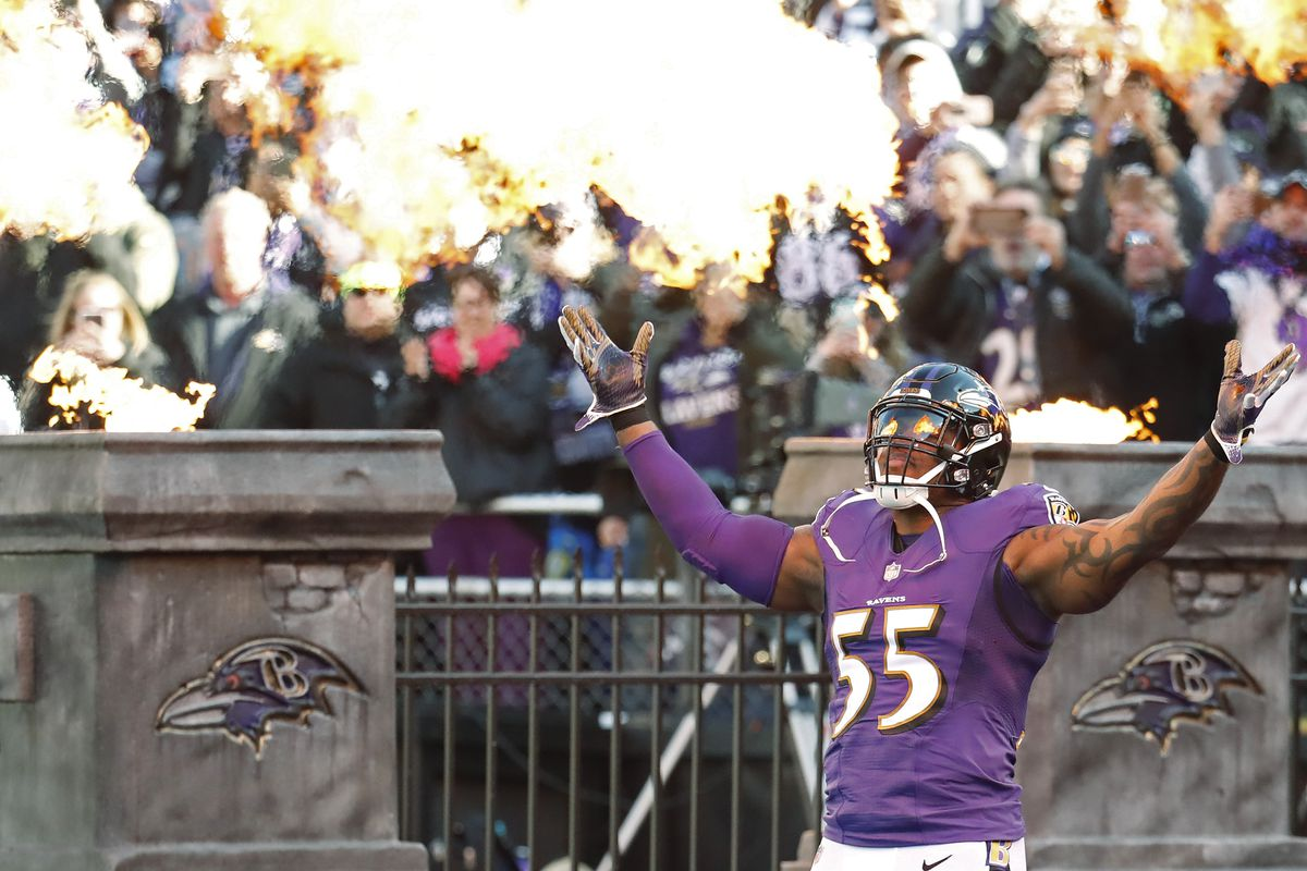 Revenge game, or homecoming? Terrell Suggs return to play the Baltimore Ravens will bring mixed emotions.