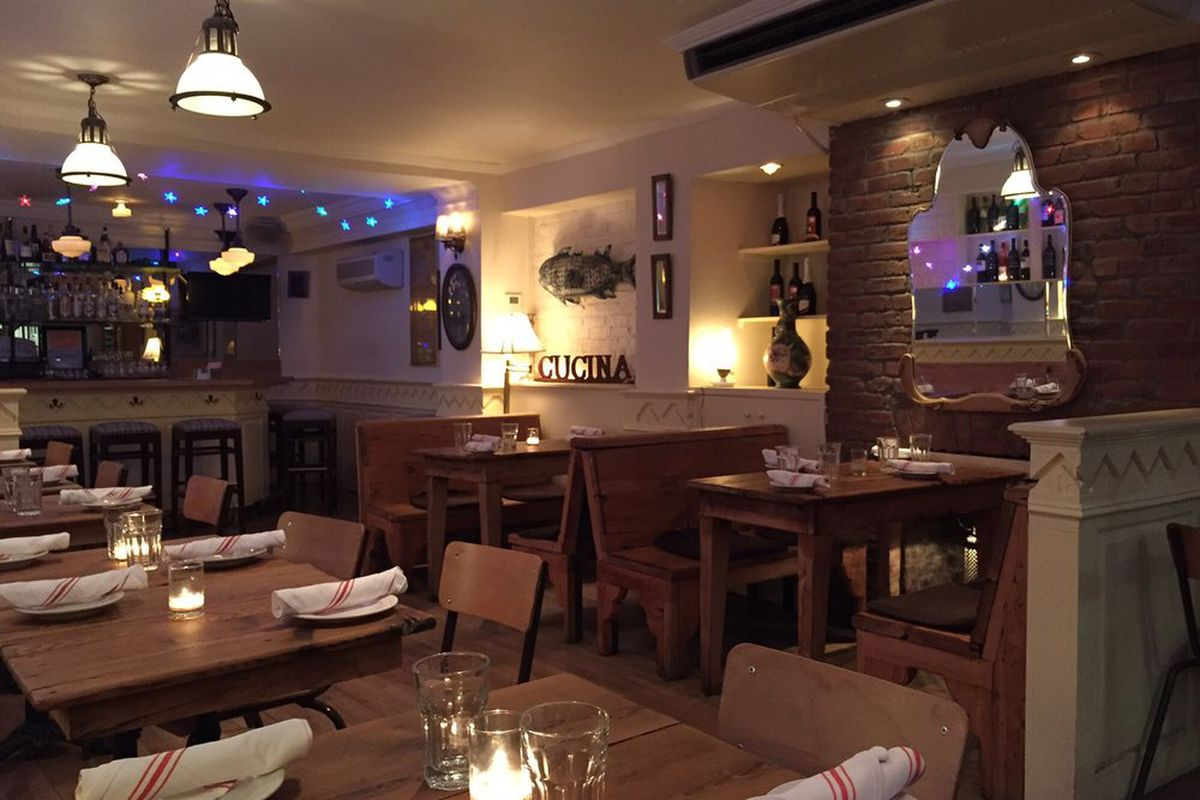 Cucina di pesce in east village has closed after 32 years - Cucina restaurant london ...