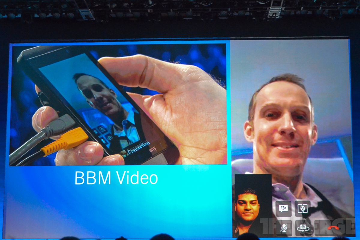 BlackBerry Messenger adds integrated video chat, voice calls, and
