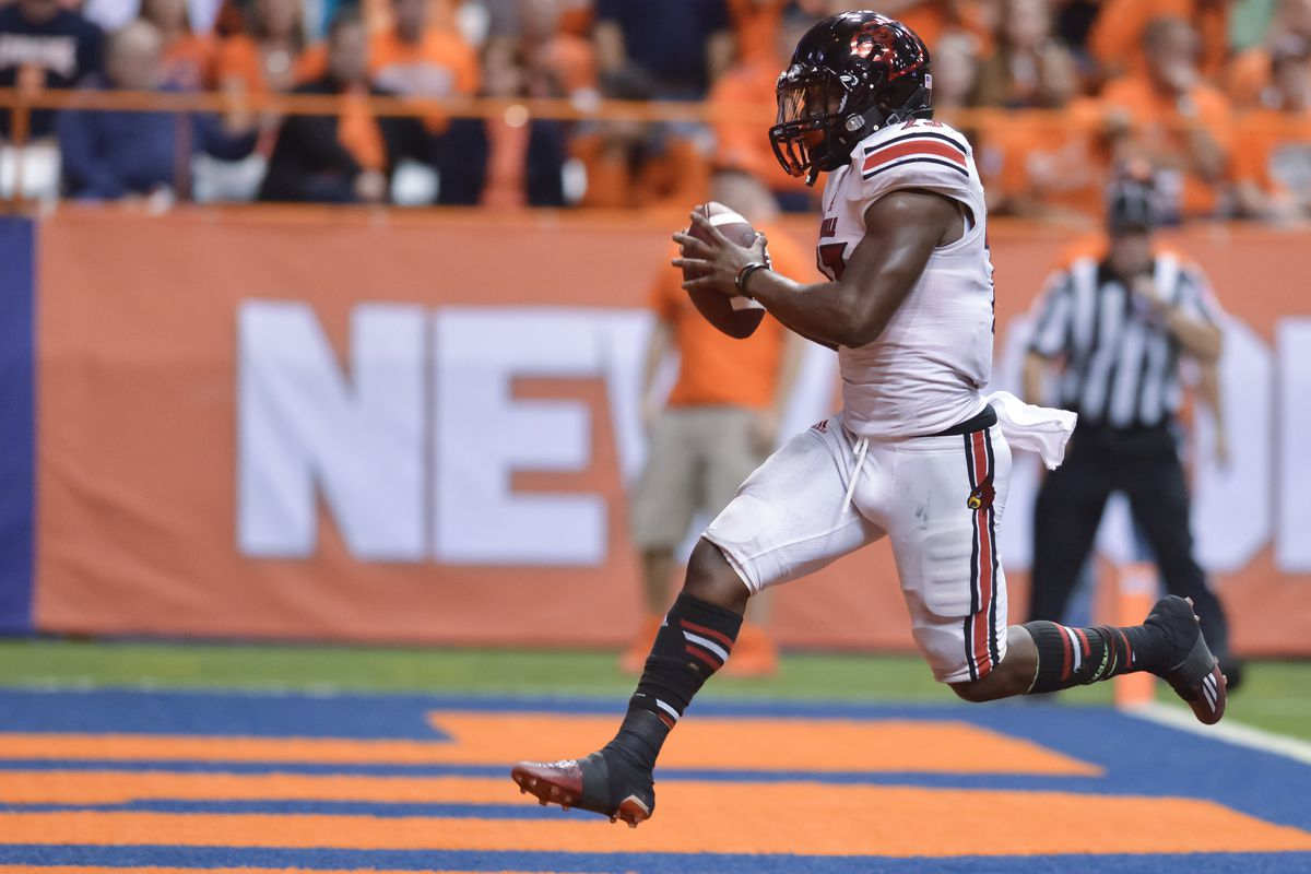 Brandon Radcliff will probably waltz into the end a lot this year.