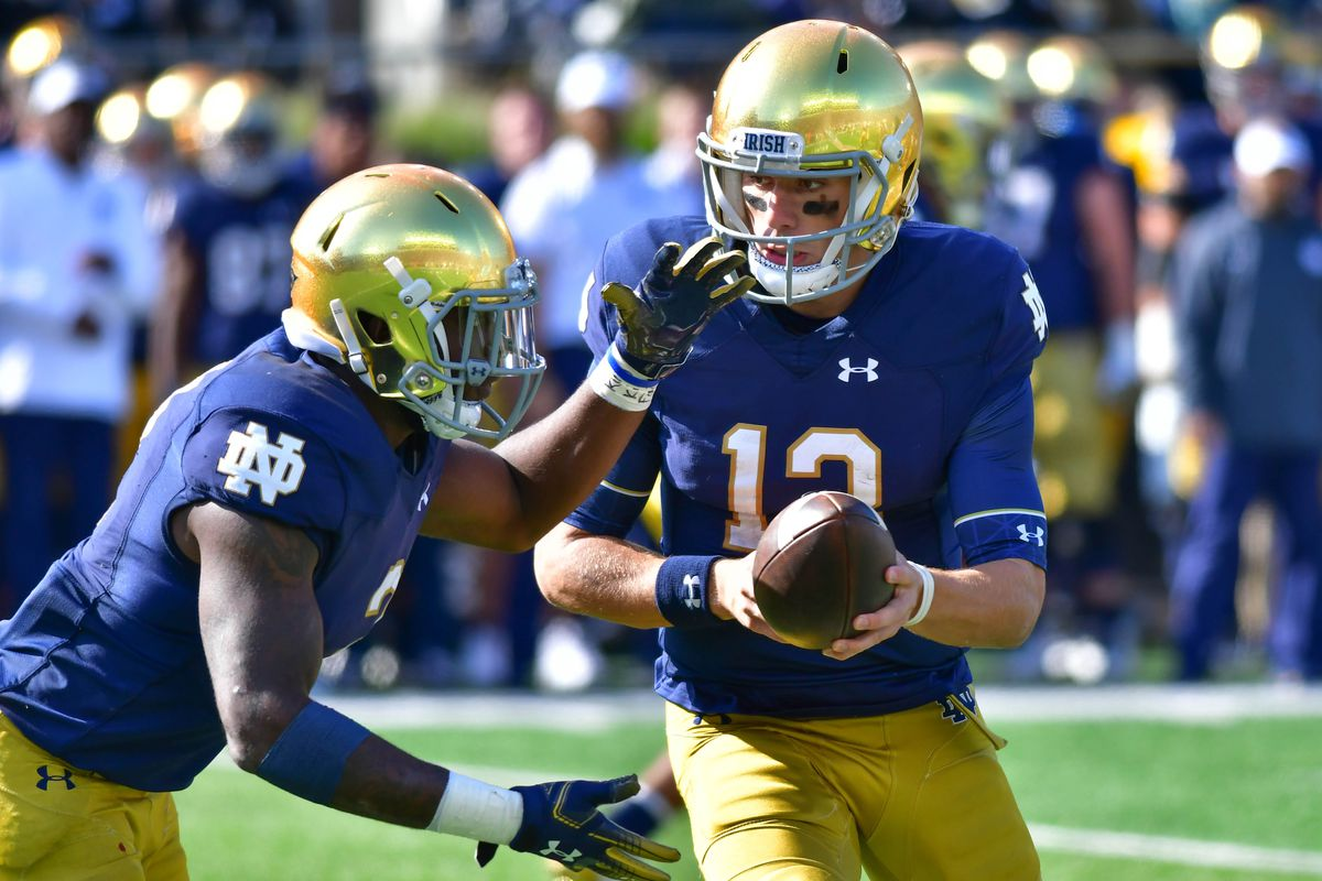 Matt Cas Usa Today Sports The Notre Dame Fighting Irish Released Their Depth Chart As They Prepare