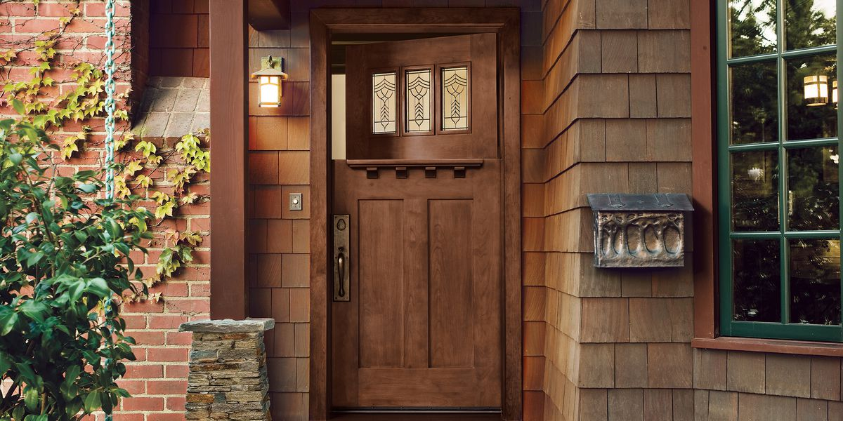 All About Fibergl Entry Doors This Old House