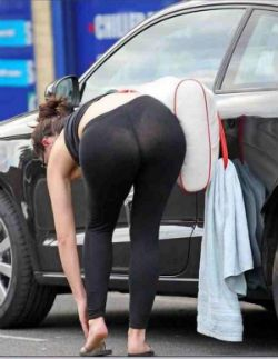 7cd9503db Photo via Twitter. Breaking  The see-through yoga pant ...