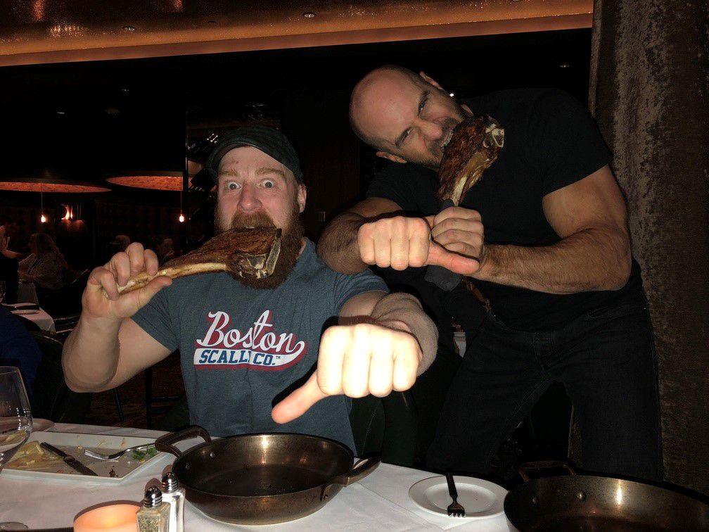 Sheamus and Cesaro