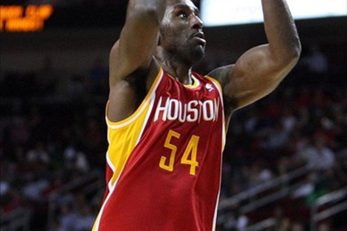 Patrick Patterson, the Rockets curious power forward.