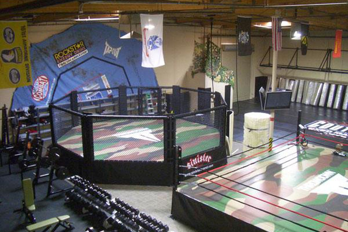 Xtreme Couture is typical of a high end training facility in MMA.
