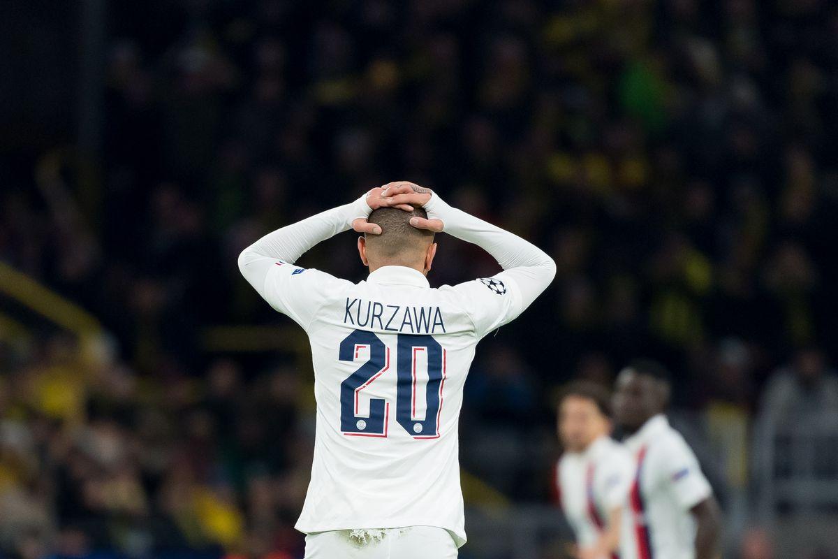 Borussia Dortmund v Paris Saint-Germain - UEFA Champions League Round of 16: First Leg