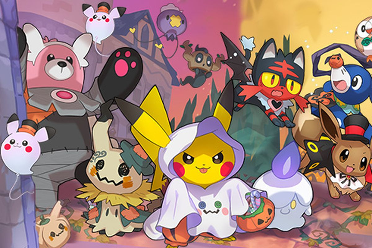 Pokémon Go Halloween event reveal has players sure new monsters ...