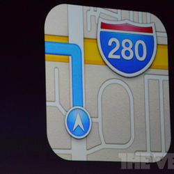 Apple replaces Google Maps with its own maps, turn-by-turn