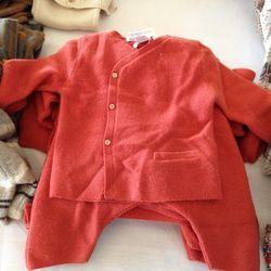 Layette Knit Set, $106