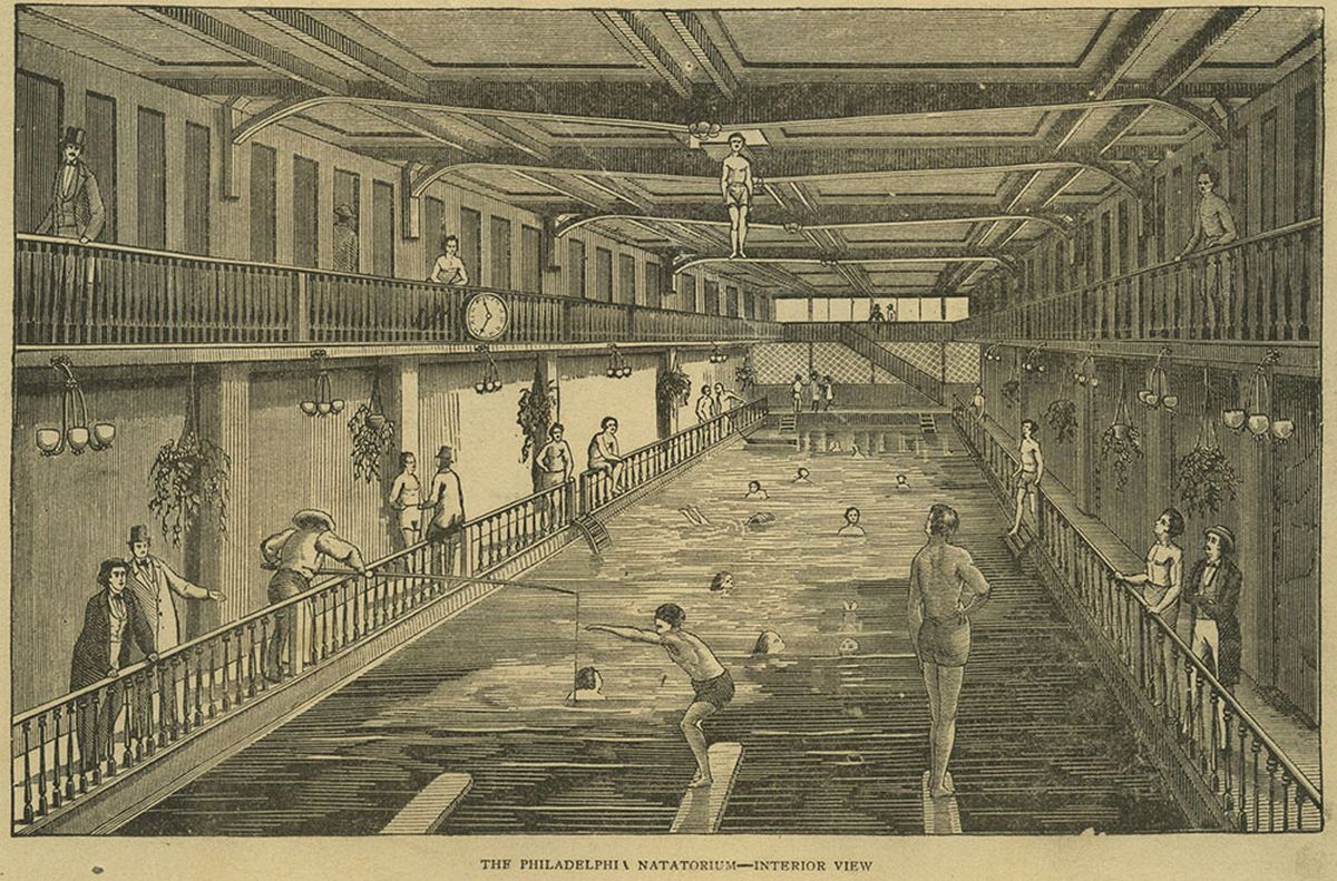 Remembering Philly S Lost Indoor Swimming Pools Curbed