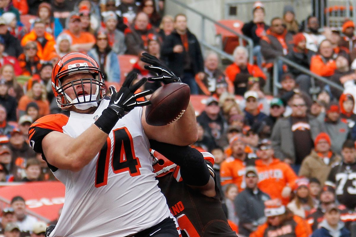 Bengals News (5/14): Jake Fisher's tight end experiment hits a bump in the road