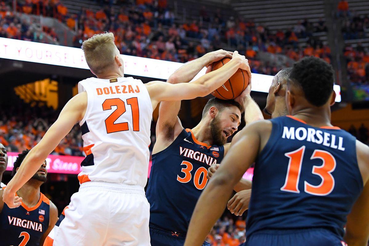 Virginia 48 Syracuse 34 Orange Struggle To Score In Home