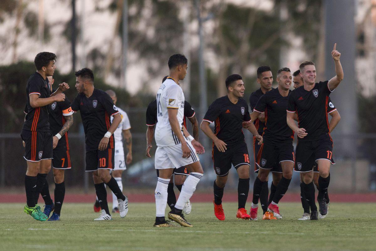 MLS: U.S. Open Cup-Orange County SC at LA Galaxy
