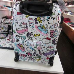 Tokidoki X Hello Kitty luggage. Cuteness!