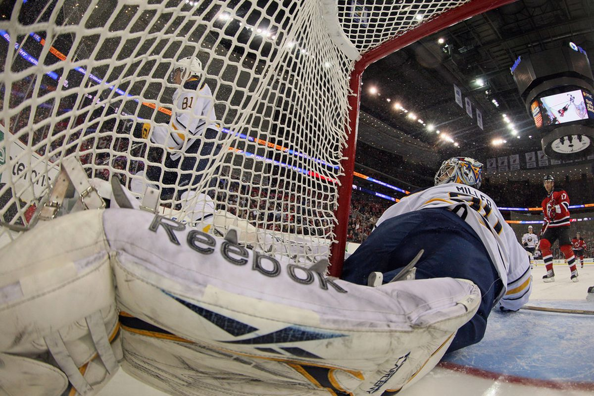 The Sabres are metaphorically running the goalie of my fandom. And I: don't care if that metaphor doesn't make sense.