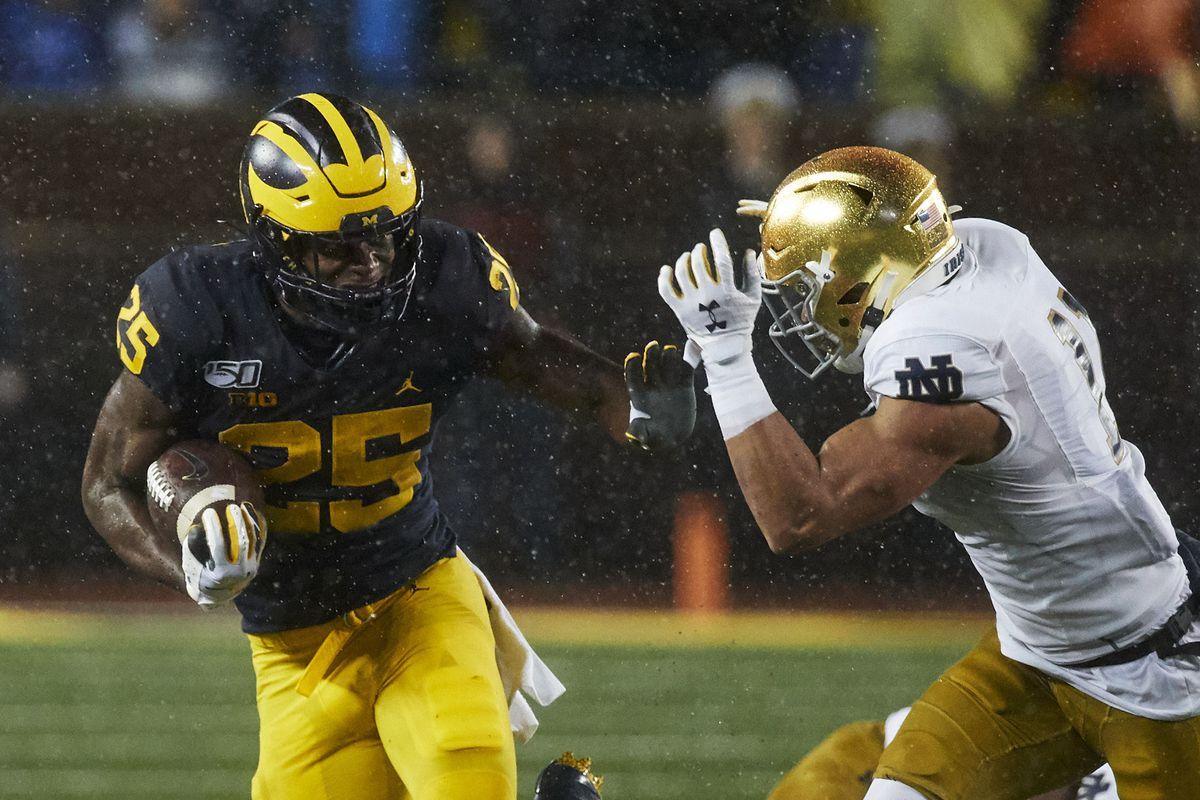 NCAA Football: Notre Dame at Michigan