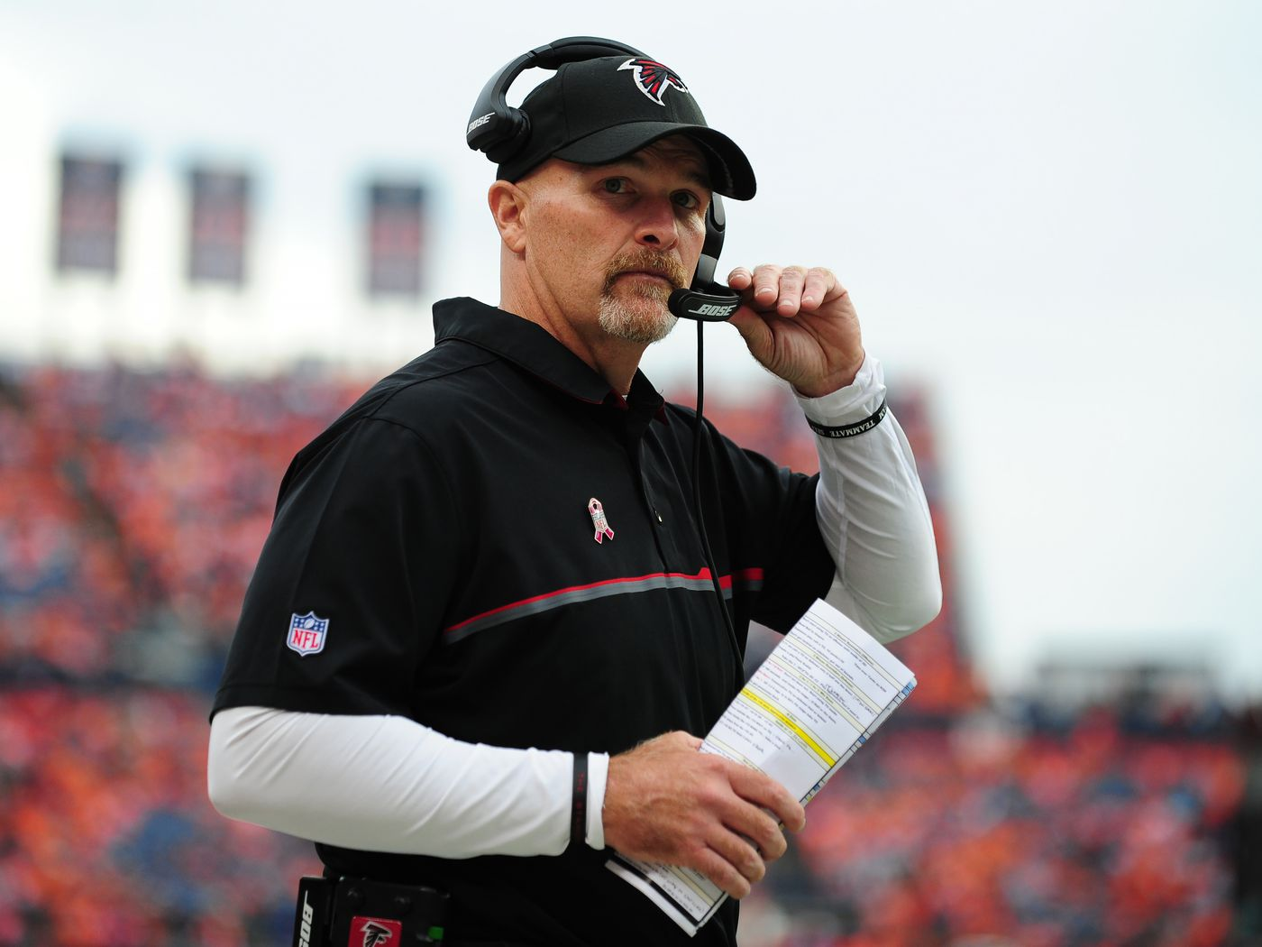 Dan Quinn Doesn T Think The Falcons Lost Because Of A Blown Pass Interference Call Sbnation Com