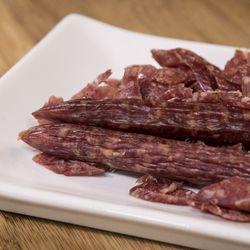 Chinese sausage is a key ingredient in Linda Yu's recipe for Chinese rice stuffing.    Ashlee Rezin/Sun-Times