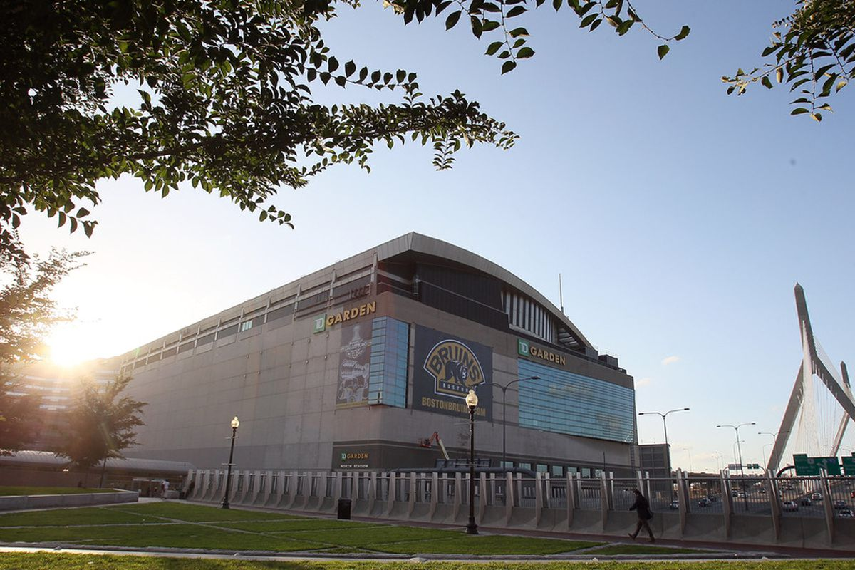 The TD Garden in Boston is the goal of all teams starting out the season in Massachusetts High School Hockey.