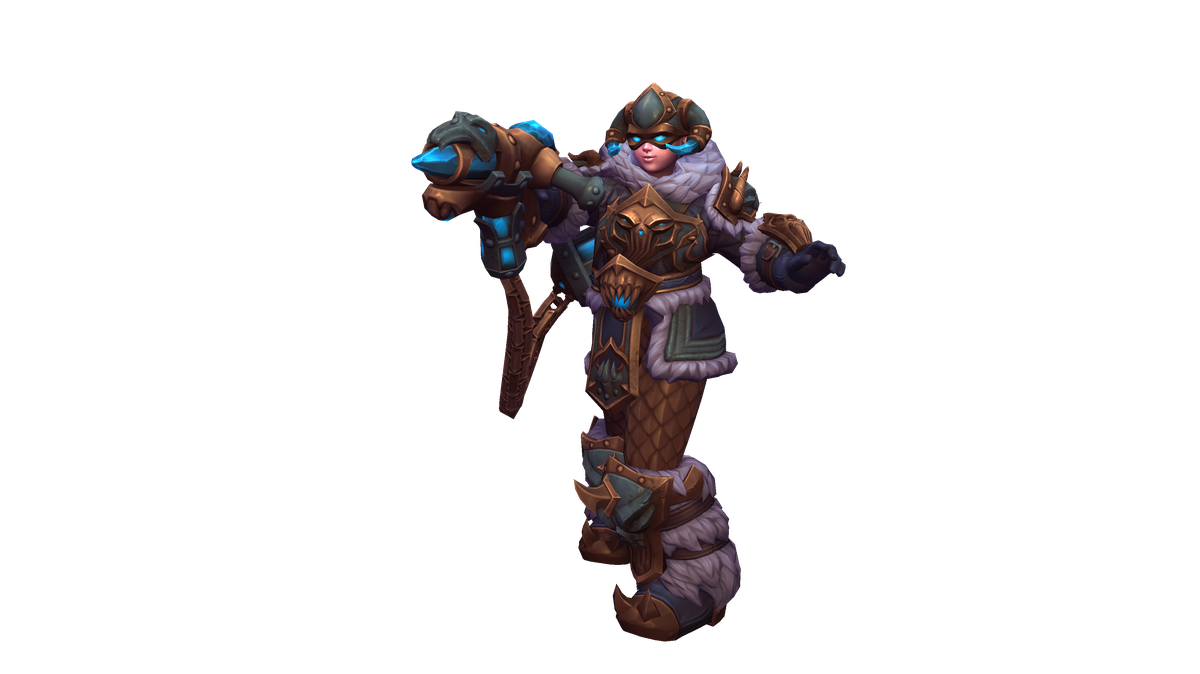 Heroes of the Storm - Mei's Death Knight skin