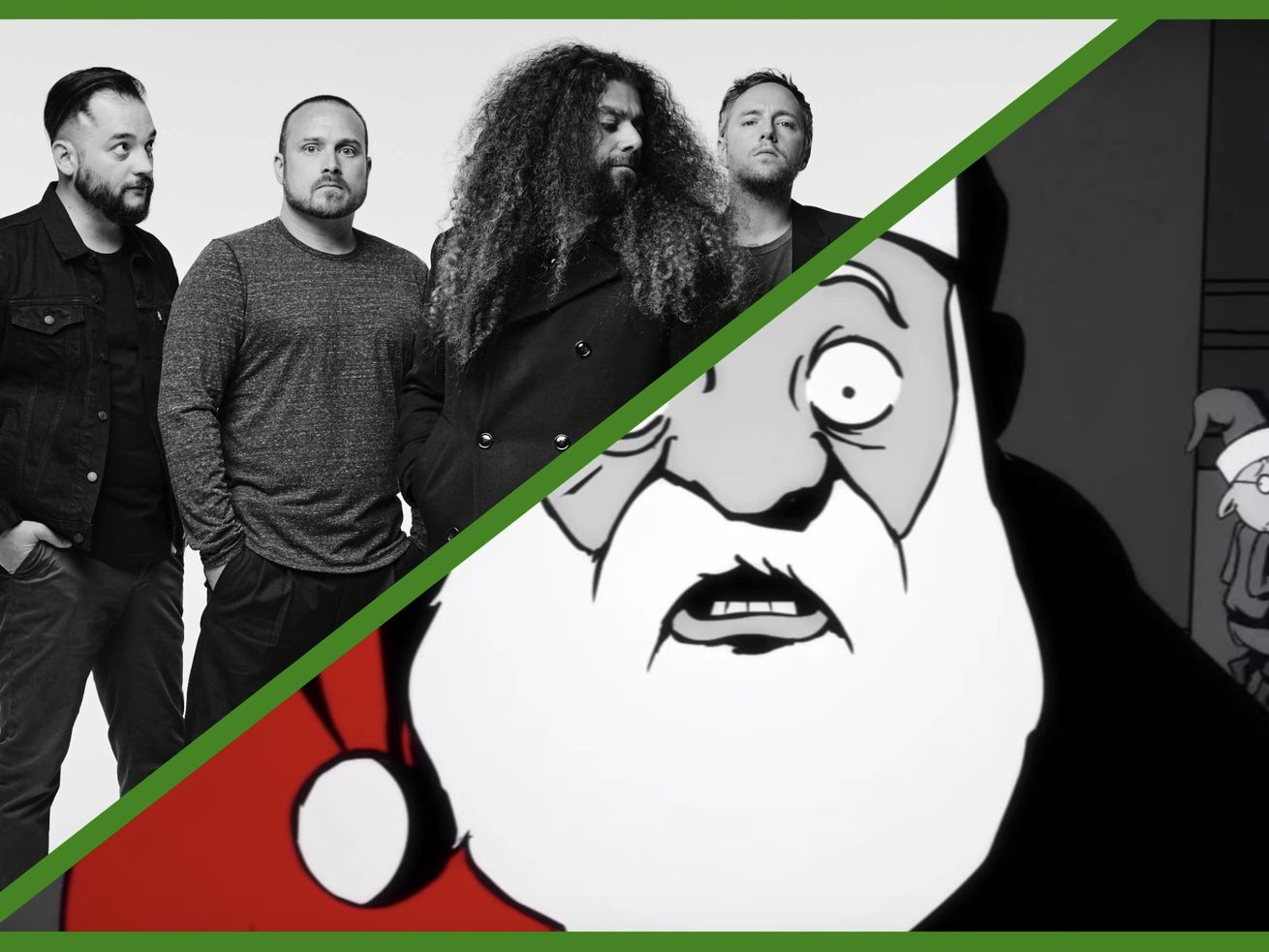 Santa Is The Hero We All Need In The New Coheed And Cambria Music Video