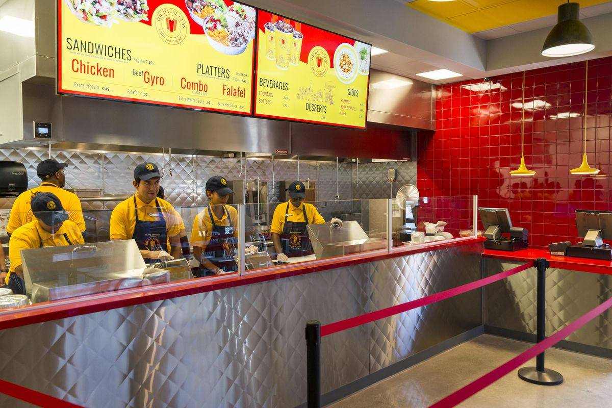 Your First Look Inside The Halal Guys Chinatown Home Eater Vegas