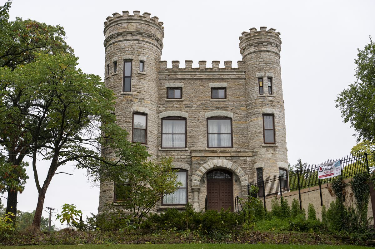 Beverly's Givins Castle was built as a gift to owner Robert C. Givins' wife and in the hopes of bringing residential growth near the Rock Island Line, according to CAC,