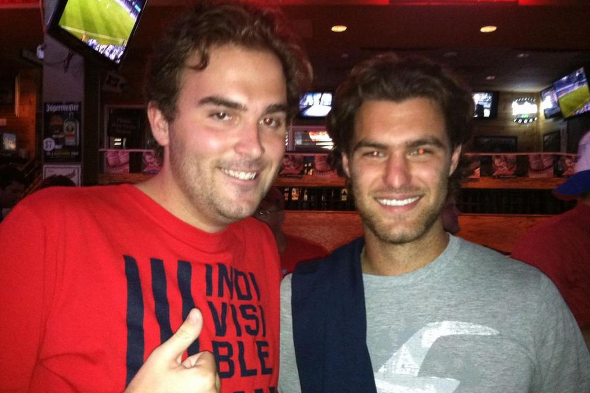 """Trent and his brother from another mother, this week's guest on <strong>The Daily Wiz's podcast, """"Ted And Trent Talkin' Touches""""</strong> -<strong> Graham Zusi</strong>"""
