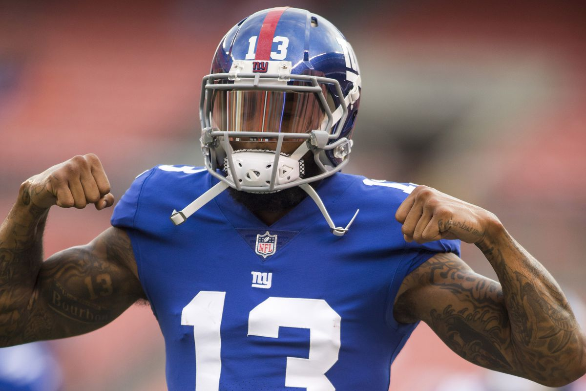 Lions Giants inactives Odell Beckham IN Janoris Jenkins OUT vs
