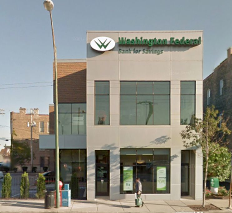 Washington Federal Bank for Savings, 2869 S. Archer Ave., before it was closed in December 2017 for