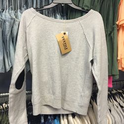 Knit top, size small, $28