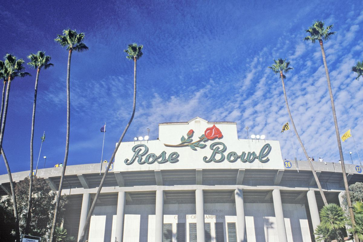 View of the Rose Bowl
